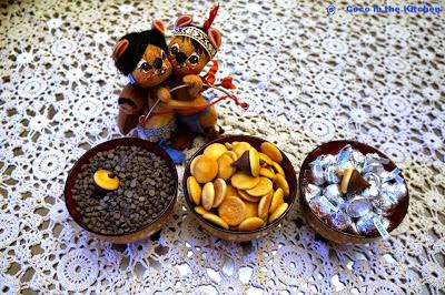 Chocolate Acorn Cupcakes