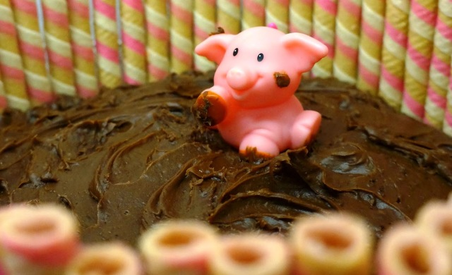 Vegan Mocha Fudge Cake