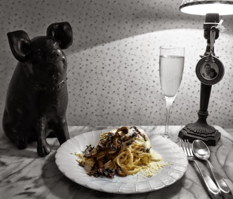 truffle mushroom pasta