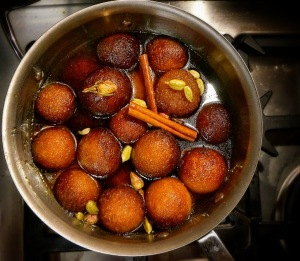 gulab jamuns indian donuts