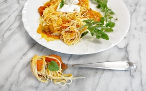 spicy marinara arrabbiatta sauce italian pasta