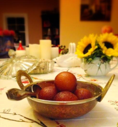 gulab jamuns indian donuts